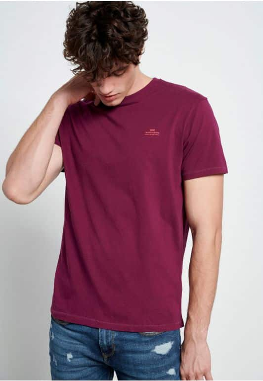 Essential t-shirt με λαιμόκοψη