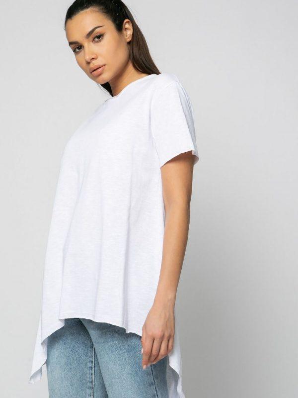 Ασύμμετρο φαρδύ t-shirt