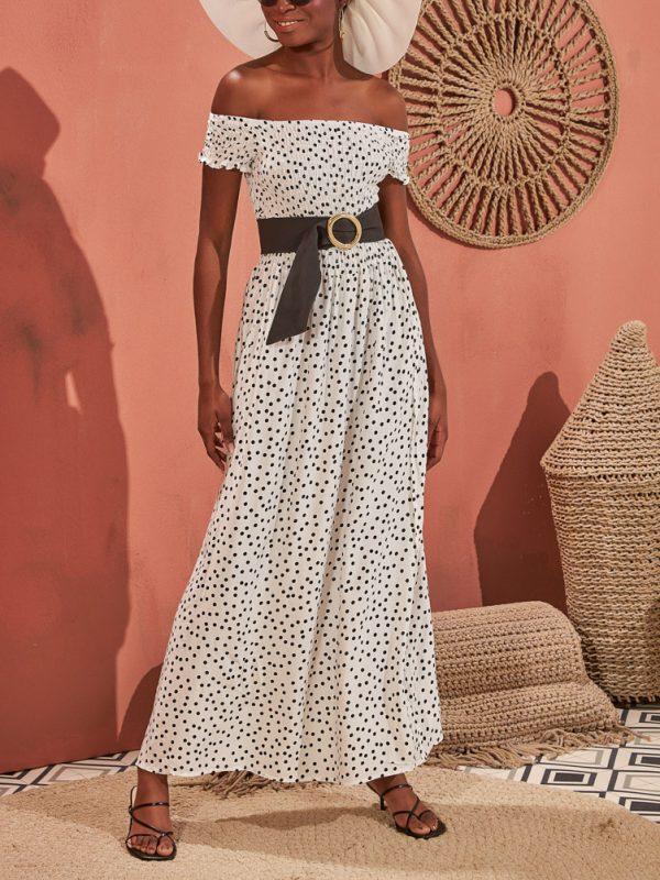 Φόρεμα polka dots