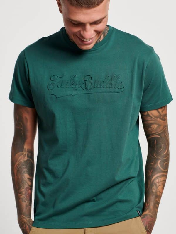 T-shirt με embossed